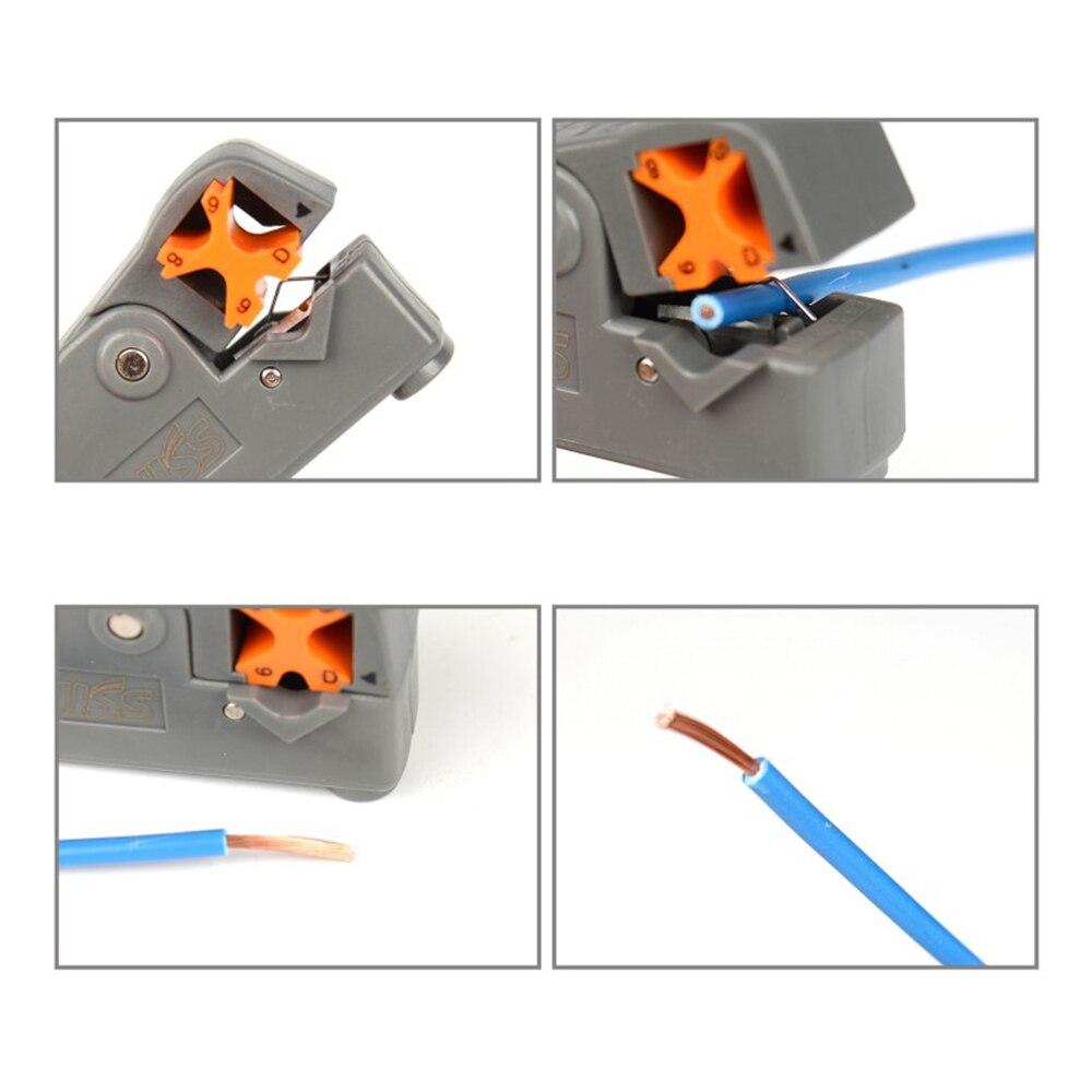 1pc Automatic Stripping Pliers Wire Stripper Multi-tool crimping pliers cable Tools Cable Stripper Decrustation Pliers