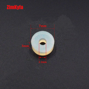 Image 5 - Paintball 10 assentos do pino dos pces gaxeta para o material do plutônio do regulador da válvula do paintball