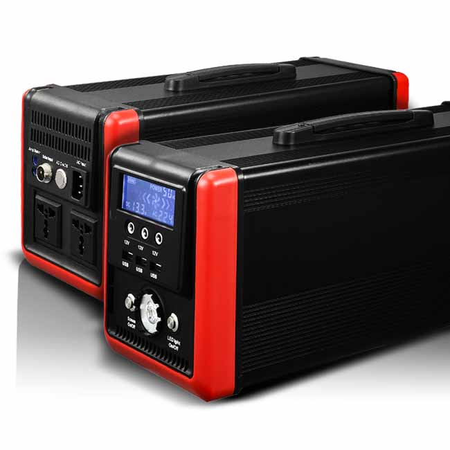 Portable 600w/1000w Lifepo4 512Wh/760Wh power station solar car jump starter