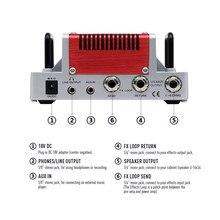 Guitar Hotone Nano Legacy Amp-Head with 3-Band EQ NLA-3 5-Watt Attack Compact Heart Mini