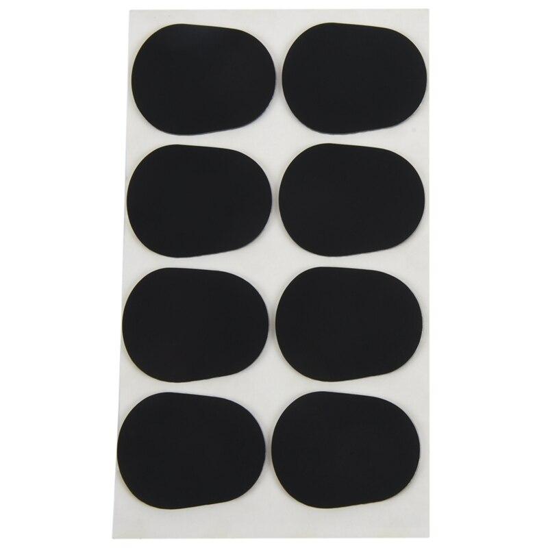 16pcs Alto/tenor Sax Clarinet Mouthpiece Patches Pads Cushions, 0.8mm Black, 16 Pack                                          #8