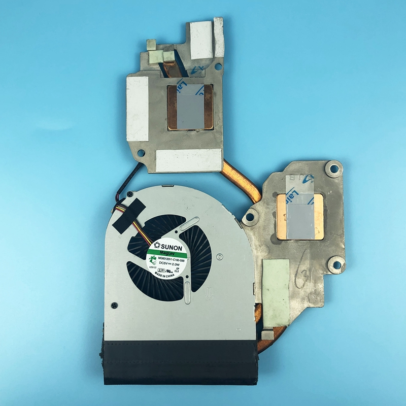 Новый оригинальный кулер для процессора вентилятор для Lenovo Y480 Y480A Y480M Y480N Y480P радиатор система охлаждения вентилятор MG60120V1-C160-S99 5 В 2,0 Вт 4pin