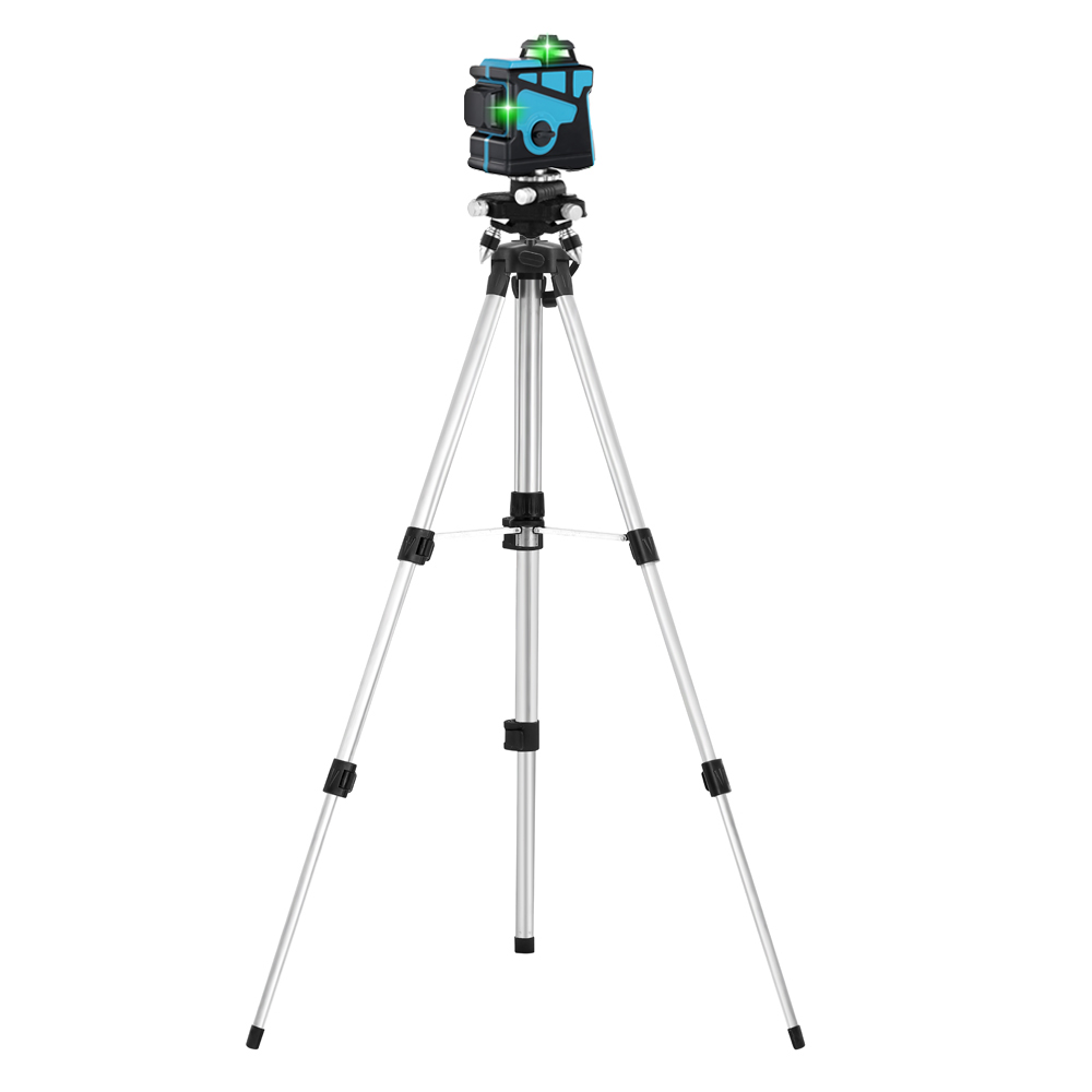 Green 12 Cross Laser Lines 360 Laser Horizontal Degree Green Leveling Vertical And With Self Tripod Level 3D ALLSOME Lines Line