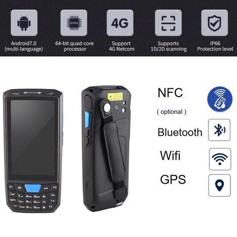 81 terminal coletor dados handheld ip66 telefone