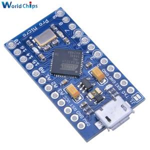 Image 4 - 5Pcs Pro Micro USB ATmega32U4 3.3V 8MHz Board Module For Arduino ATMega 32U4 Controller Pro Micro Replace ATmega328