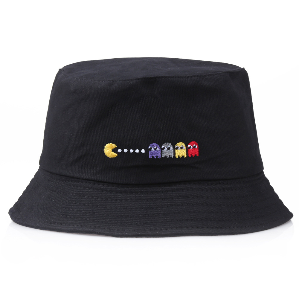 Sombrero de verano de marca para hombre y mujer, sombrero de cubo de Panama, sombrero de pescador pescando con visera plana y di