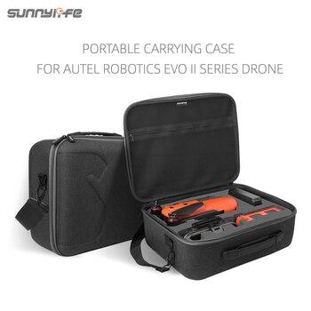 Sunnylife Portable Carrying Case Shoulder Bag Handbag Storage Bags for Autel Robotics EVO II/ EVO II Pro/ EVO II Dual Aircraft