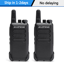 2 Pçs/lote BF-C9 conjunto de Mini Walkie Talkie bf-888s Baofeng Handheld em Dois Sentidos de Carga USB portátil Presunto Rádio caça caminhadas