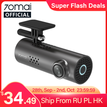 Recorder Dash-Cam Voice-Control Wifi 70mai Car Night-Vision English DVR 1080P 1S APP
