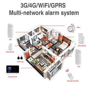 Image 5 - 3G IOS 안 드 로이드 원격 APP 제어 GPRS RFID 카드와 홈 보안 경보 시스템 무선 WIFI 모션 탐지기 알람 키트