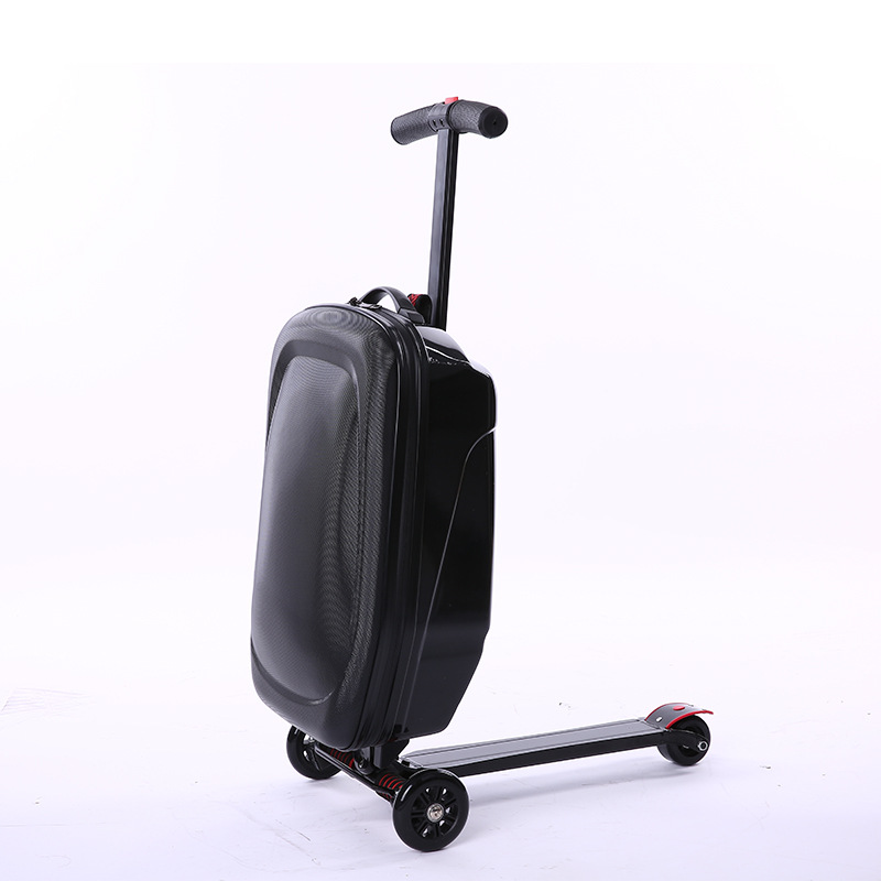 New Style Creative Scooter Trolley Case Fashion Luggage Multi-functional Suitcases Manufacturers Direct Selling A Generation Of