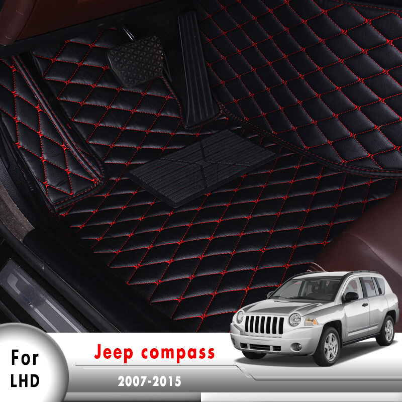 Car Floorliners Auto Interior Accessories Car Floor Mats For Jeep Compass 2007 2008 2009 2010 2011 2012 2013 2014 2015