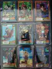 54pcs / set Super Dragon Ball Holographic Flash Card Z Hero Storm Cloud 11 Fight Instinct Goku Vegeta Game Collection