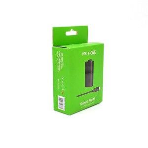 Image 4 - 充電式バッテリー & 充電ケーブルセットプレーと充電 Xbox の One ハンドルパッドワイヤレスコントローラアクセサリー
