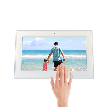 fashion new brand android 10.1 inch tablet PC digital signage touch screen wall mount all in one PC