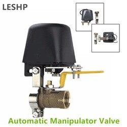 Automatyczny zawór odcinający manipulatora do wyłączania alarmu gazociąg wodny urządzenie zabezpieczające do kuchni i łazienki DC8V DC16V w Detektor dymu od Bezpieczeństwo i ochrona na