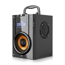 SOAIY Three Speakers Wireless Portable Bluetooth Speaker Outdoor Subwoofer Super Bass Square Dance 3d Surround Sound Card Player цена