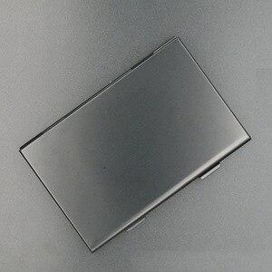 Image 5 - อลูมิเนียมอลูมิเนียมสีดำ Micro สำหรับ SD MMC TF การ์ดหน่วยความจำกล่องเก็บกล่องป้องกันกรณี 4x สำหรับ SD Card 8 X micro SIM Card