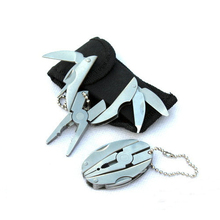 Folding-Pliers Keychain Survival-Tools Edc Tactical Outdoor Mini Camping Portable
