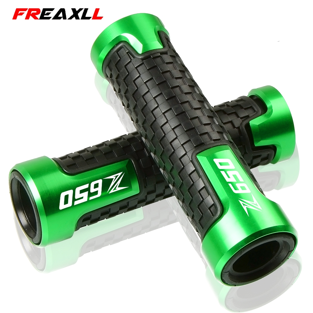 Accessories 22mm7/8 Motorcycle Handle bar Handlebar Grips For KAWASAKI Z 650 Z650 2017