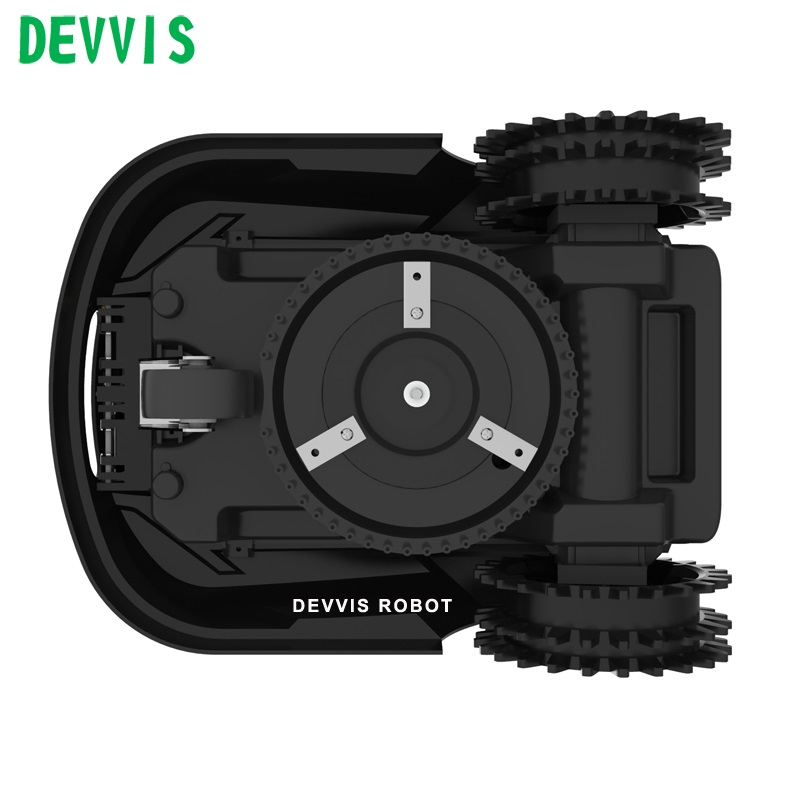 DEVVIS Robot Weed Cutter For Small Lawn ,Smartphone WIFI APP,Schedule,Auto Recharged,Range Function,Suabrea ,Range Function 6