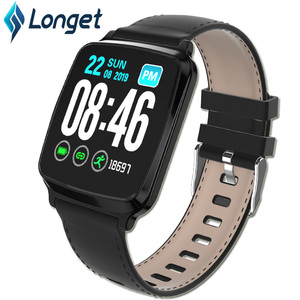 Image 1 - Longet1.3inch IPS Color Screen Smart Bracelet M8 Waterproof Call Reminder Sleep HeartRate Monitoring fitness Men for Sport Watch