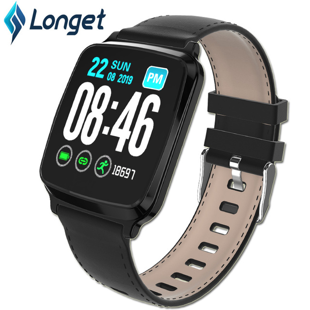 Longet1.3inch IPS Color Screen Smart Bracelet M8 Waterproof Call Reminder Sleep HeartRate Monitoring fitness Men for Sport Watch