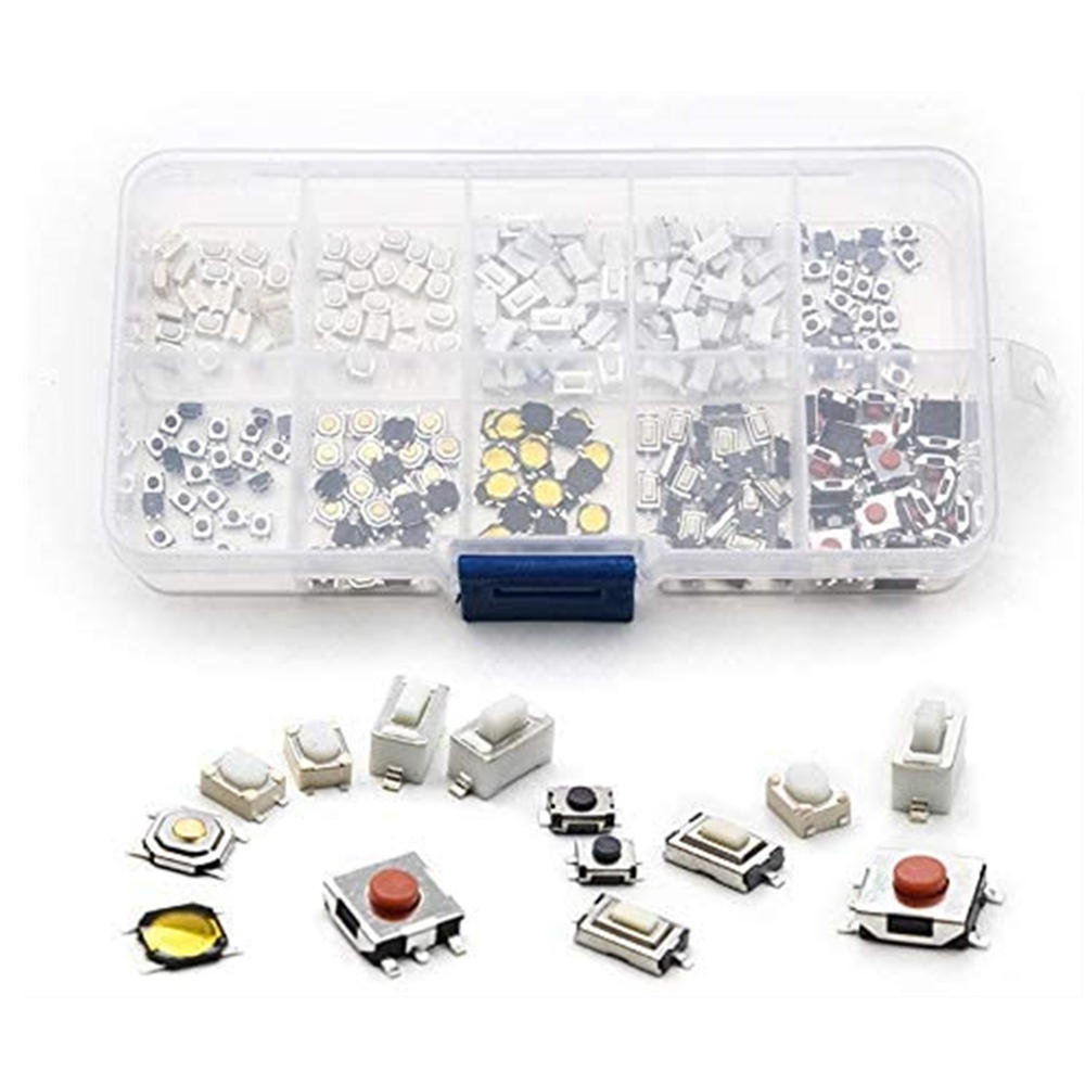 Switch-Car Remote-Control-Keys Tactile Button-Touch 10-Types 250pcs
