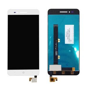 """Image 5 - 5 """"LCD ile çerçeve için çerçeve ile ZTE Blade A612 BA612 lcd ekran ekran dokunmatik sensör sayısallaştırıcı meclisi A612 tam ekran değiştirme"""