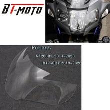 Accessoires de moto de haute qualité pour BMW R1200RT R1250RT R 1200 1250 RT, couverture de protection décorative en acrylique transparent pour phare avant