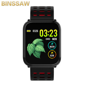 Image 5 - BINSSAW 2020 New T6 Smart Watch Fitness Tracke Band IP68 Waterproof Smart watch Men Women Clock for iPhone IOS  Android Phone