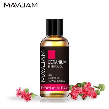 Geranium Essential Oil Diffuser 30ml Pure Natural Aromatherapy Oils Citronella Rosemary Cinnamon Chamomile Juniper