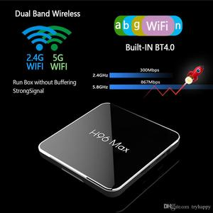 Image 2 - H96 Max X2 4K boîte 2.4G 5GHz Wifi Bluetooth décodeur S905X2 Android 8.1 Android tv box 2G ou 4G DDR4 16G 32G 64G