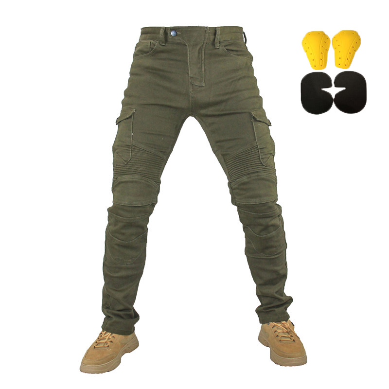 Komine spring and autumn motorcycle pants classic outdoor riding motorcycle jeans with protective gear