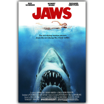 JAWS Wall Poster
