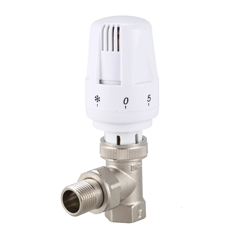 DN15 Automatic Temperature Control Valve Angle Floor Heating And Heating Special Valve