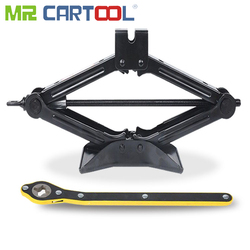 Mr Cartool 2 トンための車のジャッキ車ローリングジャックはさみリフトタイヤ修理ツール 40 センチメートルハイト 2 T