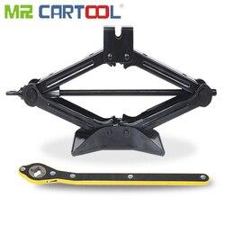 Mr Cartool 2 Ton araba Jack araba haddeleme Jack makaslı lastik tamir aracı 40cm yüksekliği 2 T