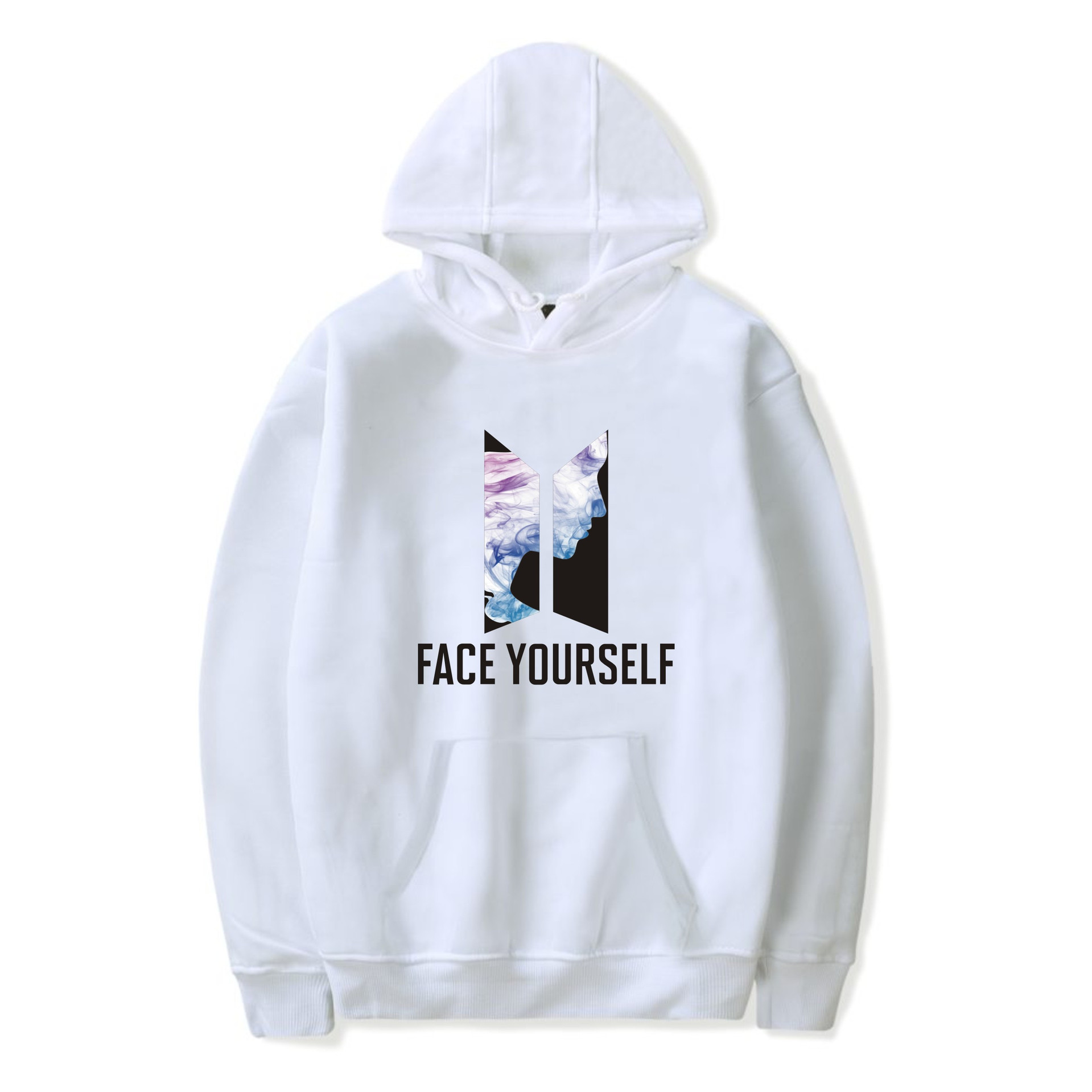 New Style BTS New Album Face Yourself Bulletproof Boys Celebrity Style Related Products Plus Velvet Hoodie