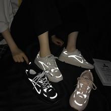 New Reflective Sport Shoes Woman Air Cushion Running
