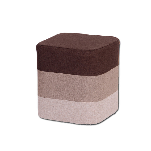 Solid Wood Shoes Bench Stool Fashion Shoes Bench  Simple Stool Makeup Stool Fabric Small Pillow Sofa Stool
