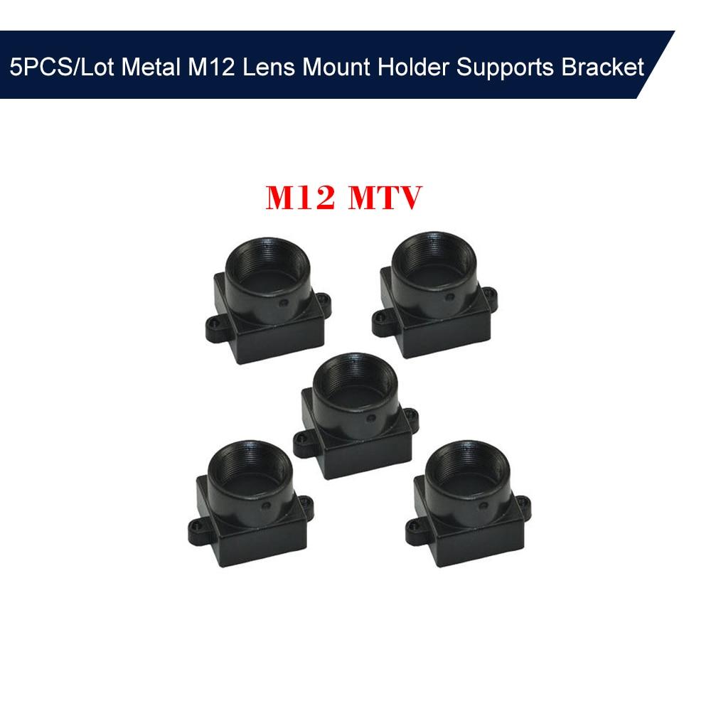 5PCS/Lot Metal M12 Lens Mount Holder MTV Lens Holder Spacing Bracket CCTV Security Camera Board Module Screw Adapter Connector