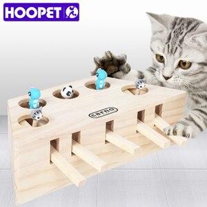 Image 1 - HOOPET חתול אינטראקטיבי לחיות מחמד חתול צעצוע לשחק לתפוס צעצוע משחק צעצועי תרגיל מוצרים לחיות מחמד