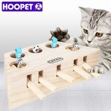 Hoopet brinquedo interativo para gatos, brinquedo de pegar, exercício, produtos para animais de estimação