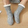 Мужские носки-трубы, зимние тапочки, носки, носки для пола, теплые утепленные бархатные носки для взрослых на осень и зиму, носки для ковров