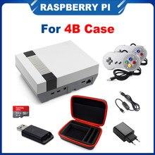 Itinit r16 nespi 4 caso raspberry pi 4 caso com USB-C fonte de alimentação hdmi splitter switch apenas para raspberry pi 4b kits
