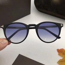 High quality sunglasses TF539 round sunglasses