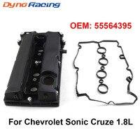 Eksantrik mili motor vana kapağı Rocker kapak Chevy Chevrolet Sonic Cruze için 1.8L 55564395