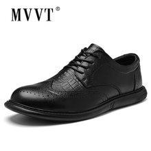 Мужские туфли из натуральной кожи в британском стиле Классические