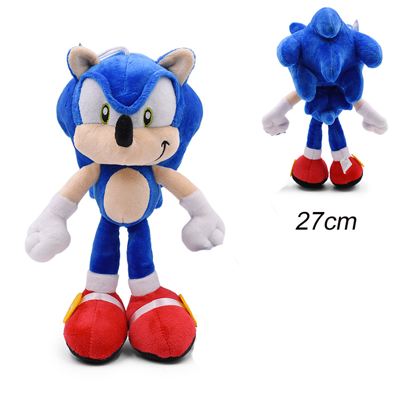 30cm Sonic Plush Doll Toys Hot Sale Sonic Shadow Amy Rose Cotton Soft Stuffed Game Doll Toys For Kids Chris Gift For Kids 3